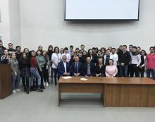 Встреча со студентами-выпускниками Медицинского института РУДН